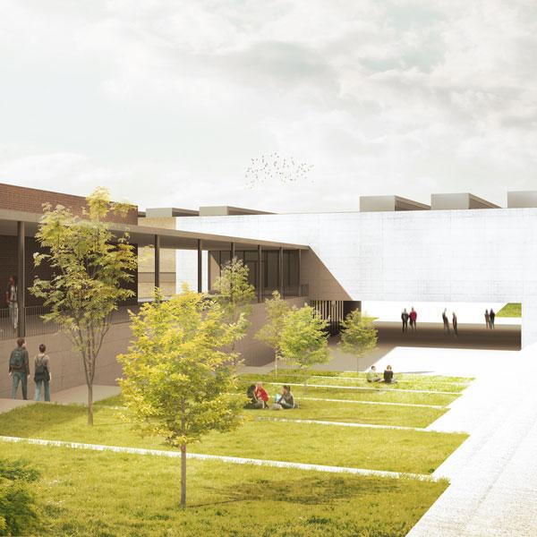 Centro Educativo en Sarriguren, Navarra