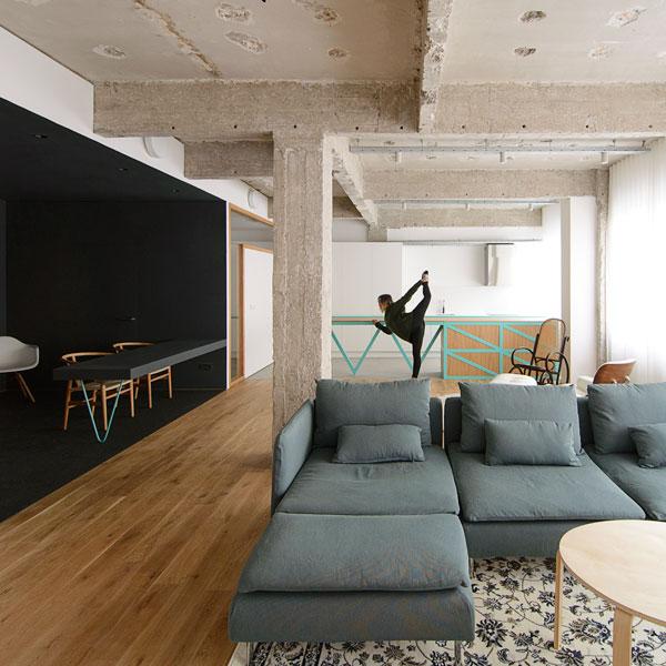 Reconversi n de oficinas en vivienda bilbao garmendia - Oficinas en bilbao ...