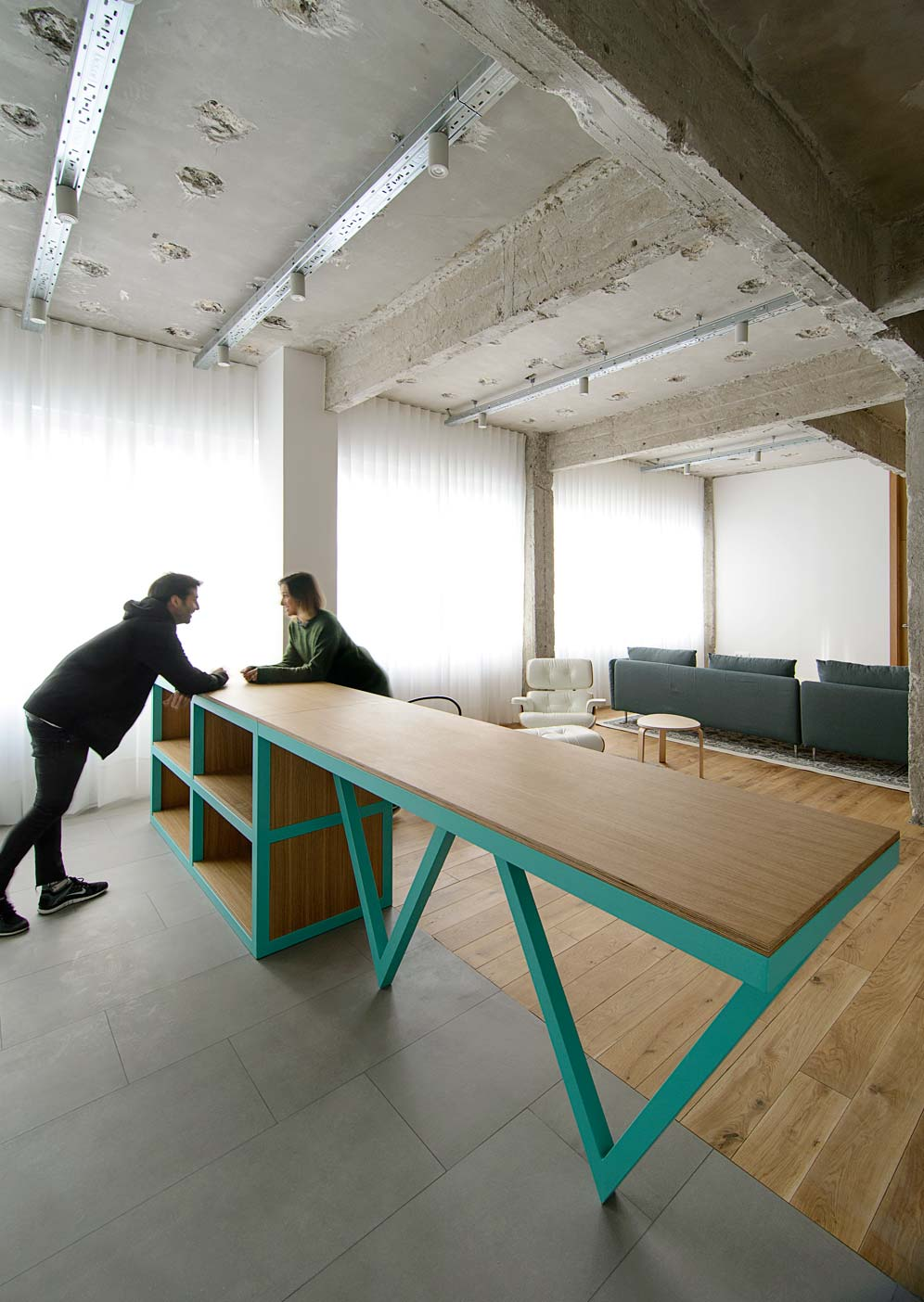 Reconversi n de oficinas en vivienda bilbao garmendia for Oficinas bankia bilbao