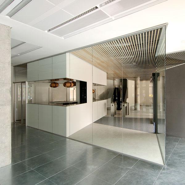 Reforma de edificio de oficinas bilbao garmendia for Oficinas bankia bilbao