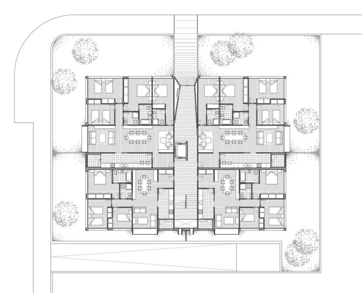 14 viviendas, Orozko